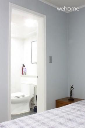(독채사용) 용산 한강변의 방 3개 아파트 - 안방 화장실