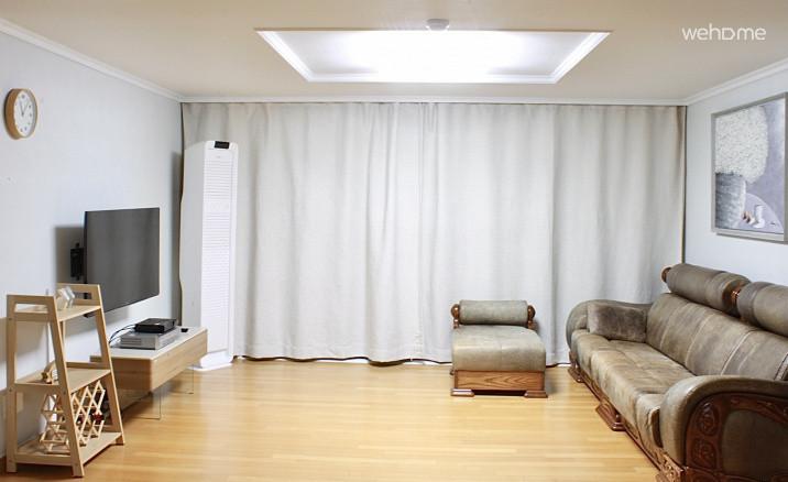 (독채사용) 용산 한강변의 방 3개 아파트