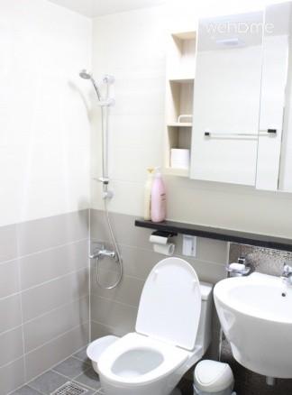 (독채사용) 용산 한강변의 방 3개 아파트 - 메인 화장실
