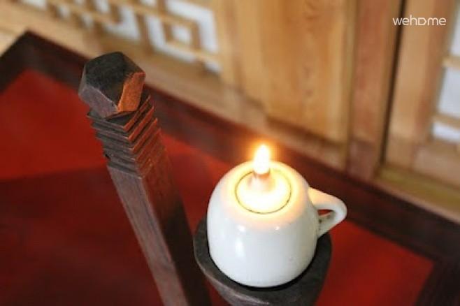 한국 전통 등잔불