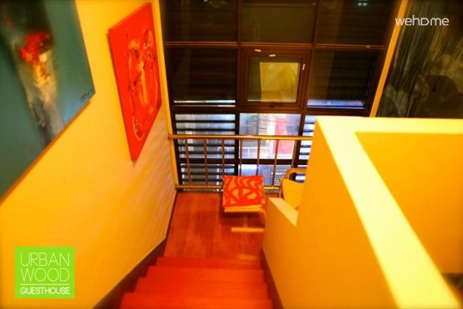 홍대 어반우드 게스트하우스 - Oriental Sun (deluxe double room)