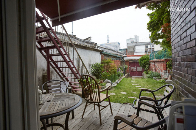 [Seochon] large garden, culinary experiences as possible Dorm 6 Share