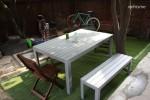 정원 야외테이블