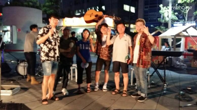 인근 서울로(7017)에서 행사
