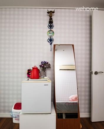 냉장고 및 전신거울