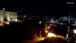 마을 야간 풍경