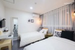 Mono House # 5 Deluxe Twin (Hongdae, Gyeongui Line Forest Road, Long-term Stay)