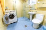 세탁기와 화장실