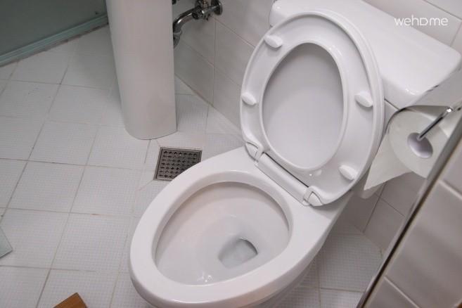 욕실 내부 - 변기