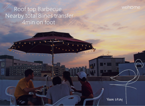 2 # Men's Dormitory Cheongnyangni Station 3-minute walk Rooftop BBQ