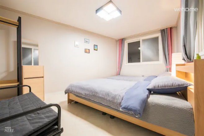 지미집 [HBC] Fantastic rooftop & Cozy bedroom_3F
