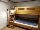 2번침실: 슈퍼싱글 이층침대