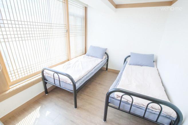 홍대 코코아게스트하우스(트윈룸) / 무료 조식,WiFi