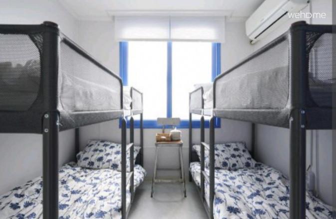 룸5(2층침대4인실)