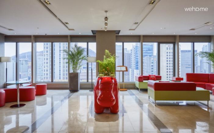 이비스 앰배서더 명동 호텔 : 트윈룸